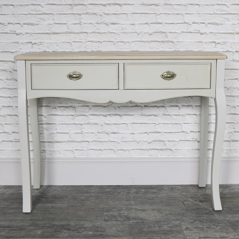 Albi Range - Two Drawer Dressing Table
