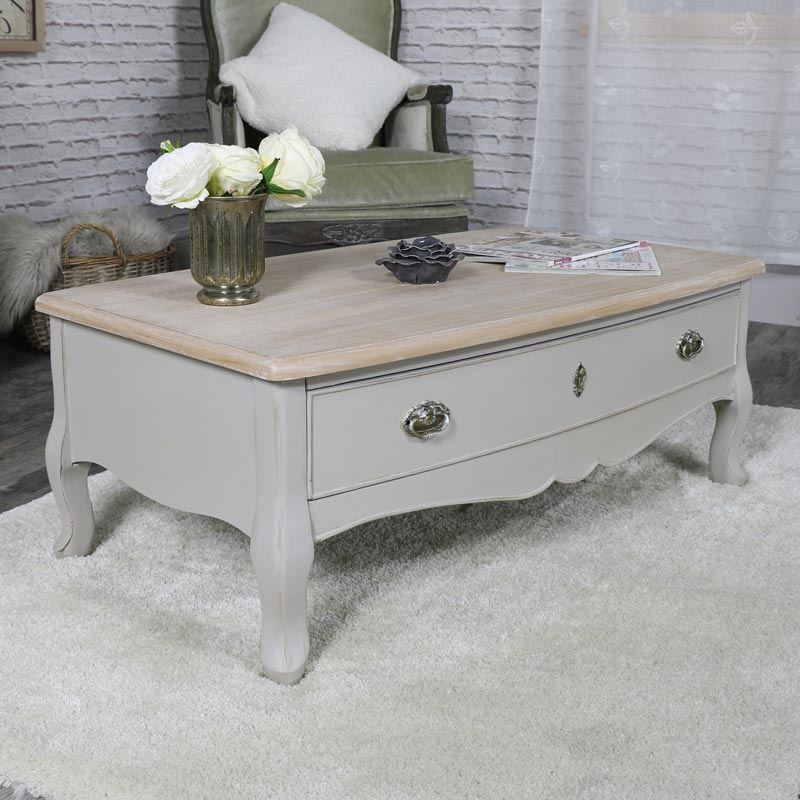 Albi Range- Two Drawer Coffee Table