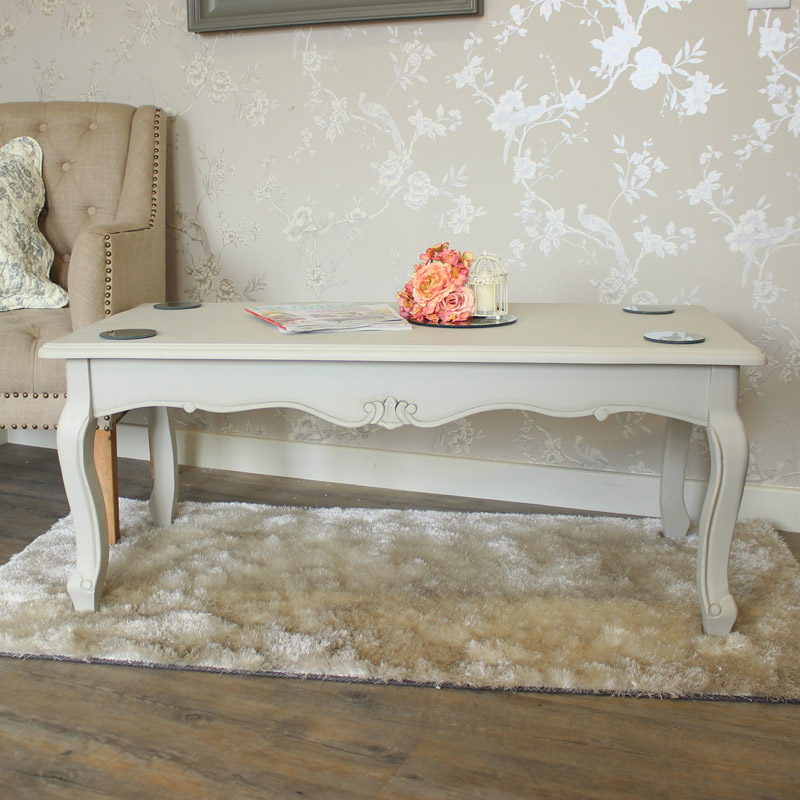 Elise Grey Range- Coffee Table