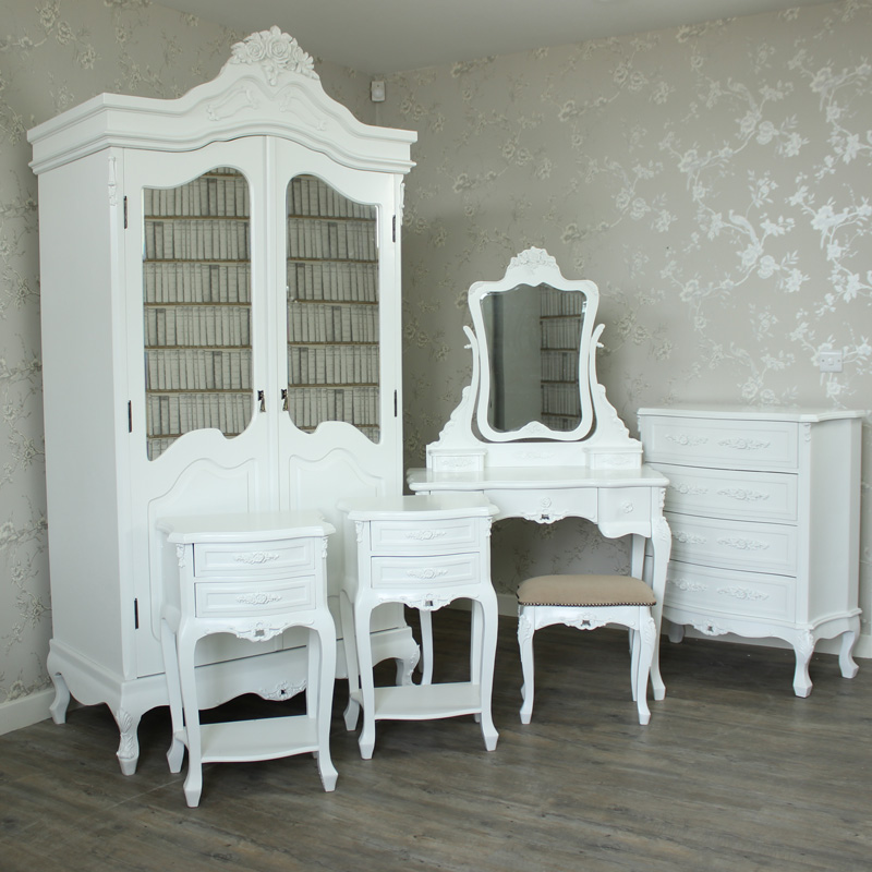6 Piece Bedroom Furniture Set - Rose Range
