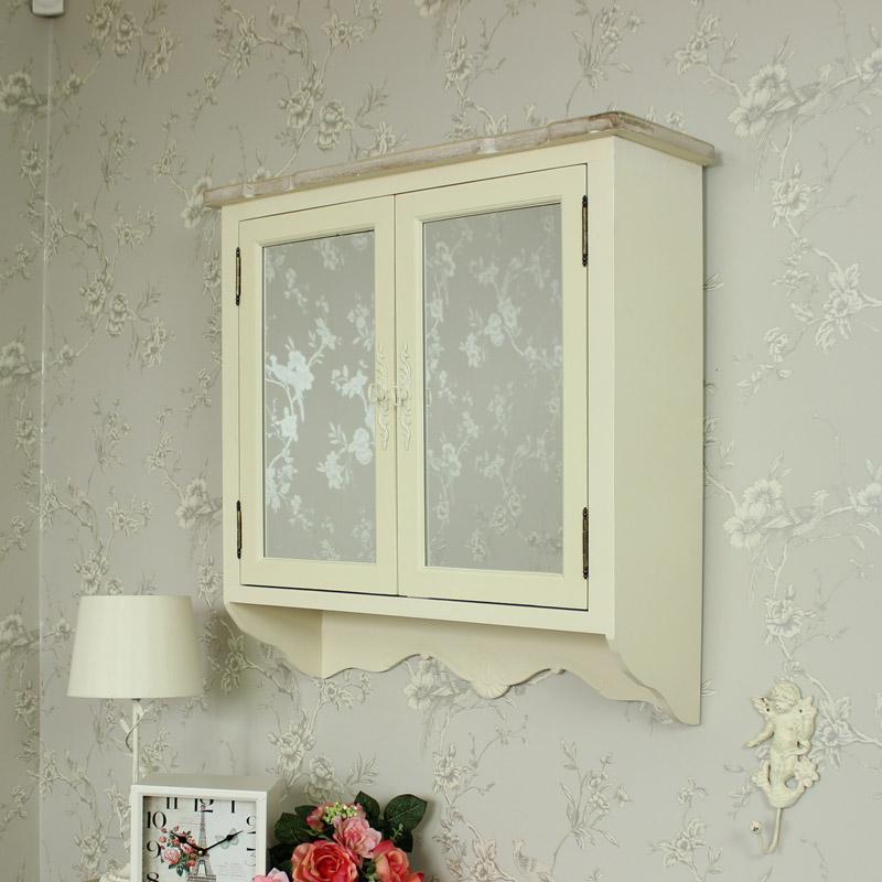 Belfort Range - Cream Mirrored Wall Cabinet