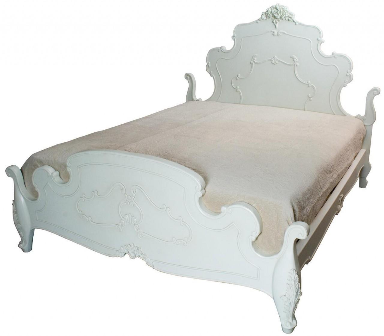 Rose Range - Ivory King Size Bed